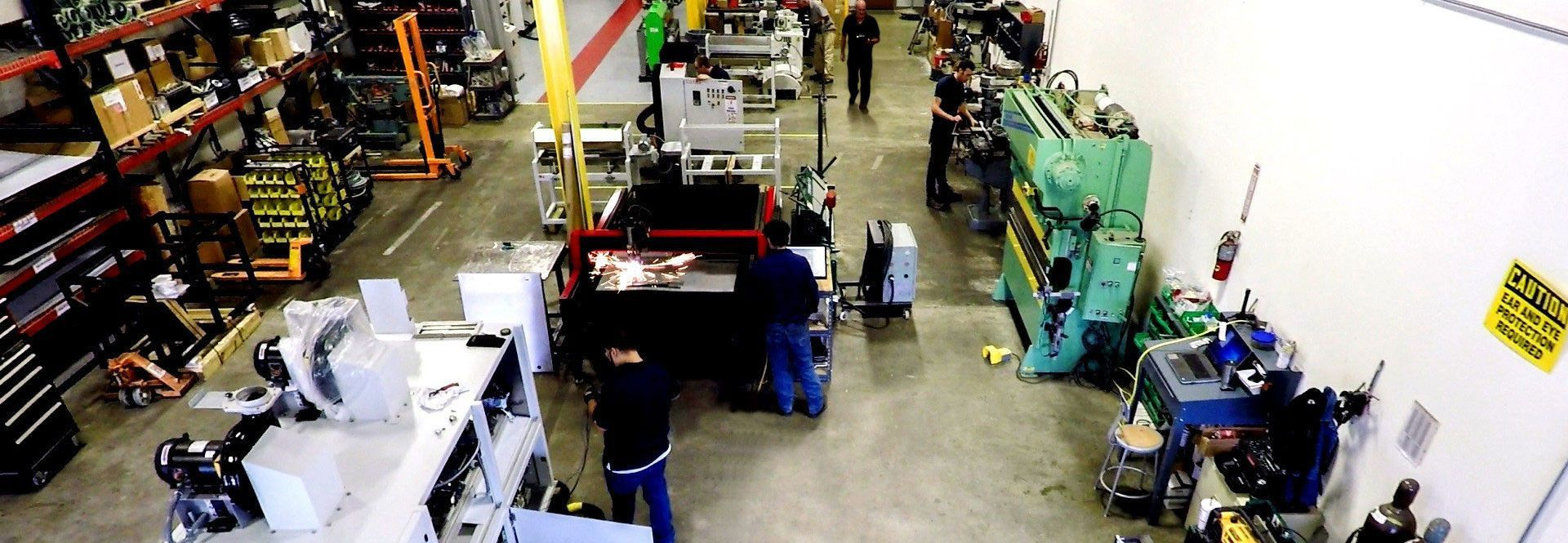 Finishing Systems in Factory